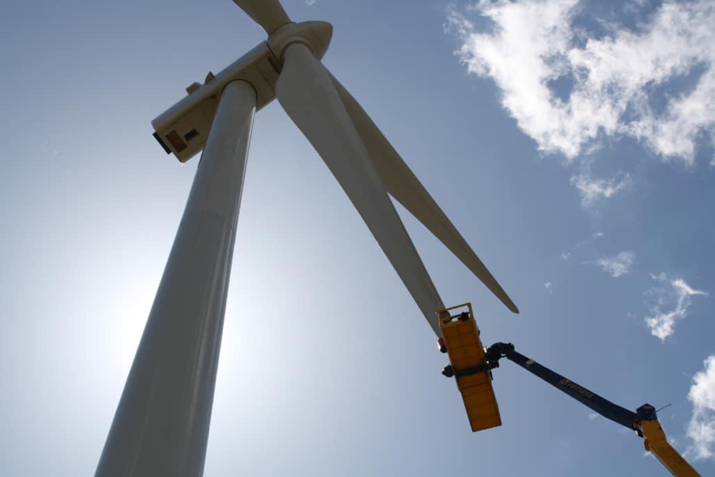 Inspection and Repair of Wind Turbine Blades